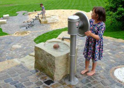 Schwengelpumpe im Bürgerpark