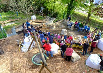 Kindergarten Bad Ems Einweihung Wasserspielplatz