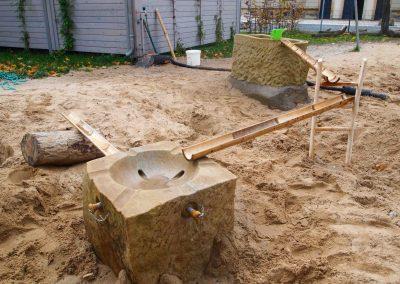 mobile Wasserspielanlage
