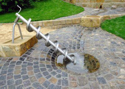Wasserspielplatz-Bielefeld-Archimedische-Schraube