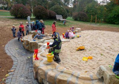 Wasserspielplatz Schloßpark Laubach