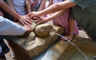 Wasserspeier für Kindergärten