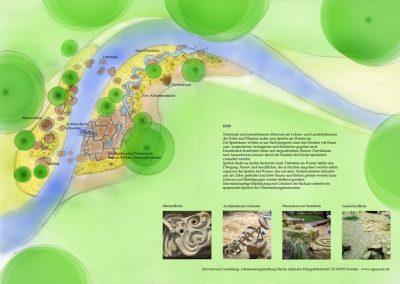 Konzeptentwurf für die Renaturierung einer Flussaue