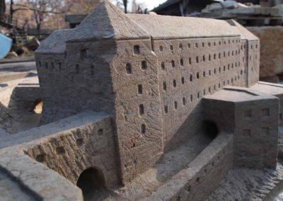 Nachbildung der Festungsanlage Pirna Sonnenstein