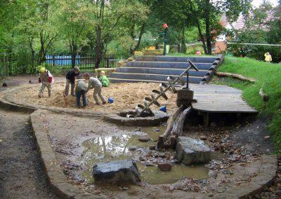 Wassermatschanlage Grundschule Dresden 5
