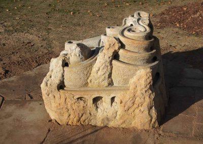 Murmelburg aus Sandstein