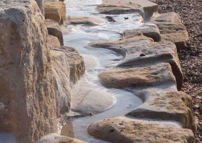 Wasserspielanlage aus Sandstein