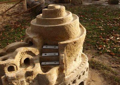 Murmelbahn mit Klangtreppe